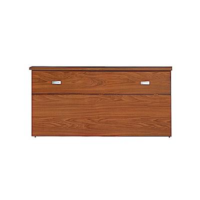 AS-亞瑟5尺柚木色床頭箱-155x29.7x75cm
