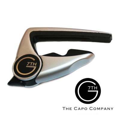 G7TH PII-6-SV Capo-Performance II 6弦專用 移調夾 銀色