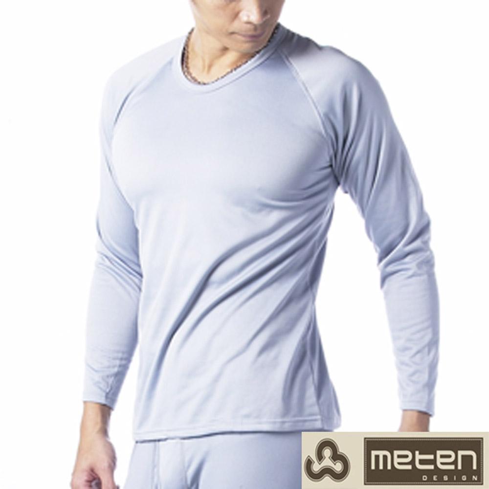 衛生衣 3件組精典時尚彩色內刷毛圓領衛生衣METEN