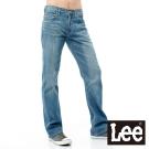 Lee 牛仔褲 727 中腰標準直筒-男款(中漂藍)