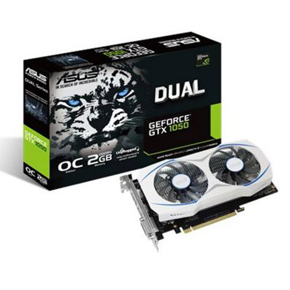 ASUS華碩GeForce GTX 1050 OC版顯示卡