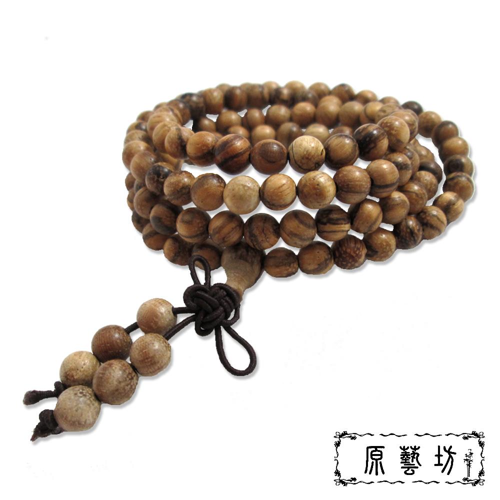 原藝坊 白沙沉108顆念珠(圓珠直徑6mm)