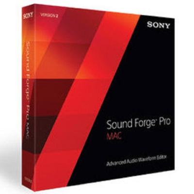 Sound Forge Pro Mac 2.5 單機版 (下載)