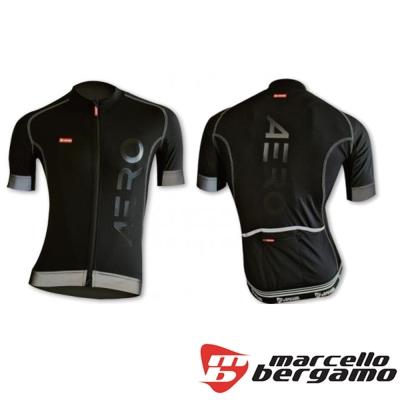 Marcello-Bergamo-MB-義大利AERO輕量透氣車衣-黑色