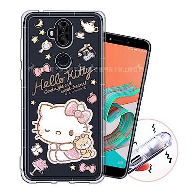 三麗鷗授權 ASUS ZenFone 5Q ZC600KL 甜蜜系列彩繪空壓殼(小熊)
