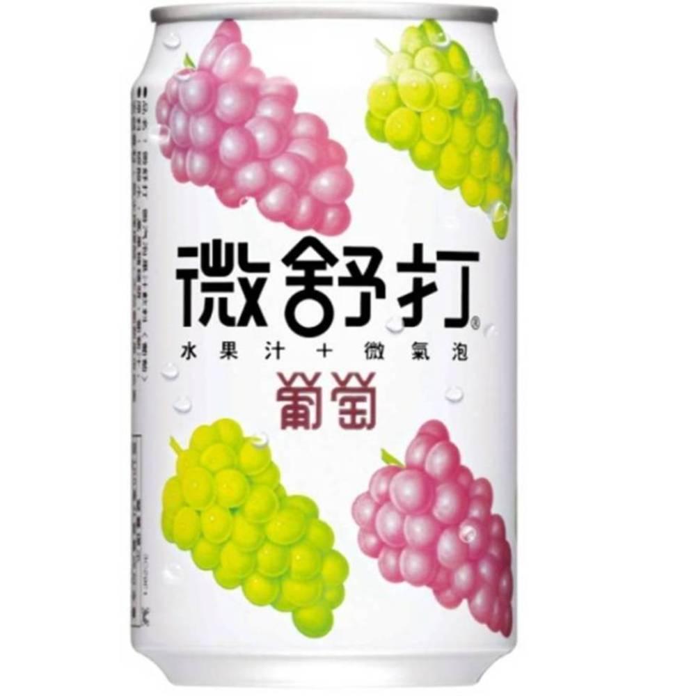 微舒打 葡萄口味(320mlx24入)