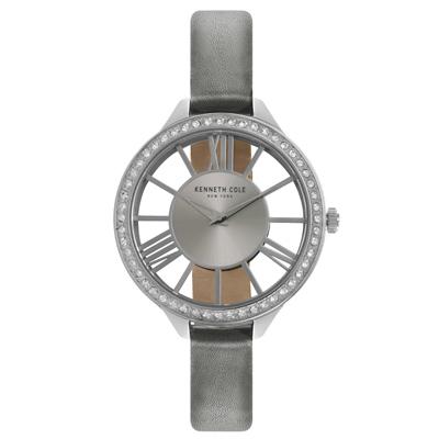 Kenneth Cole 羅馬夜夢 晶鑽腕錶~KC50184003~41mm