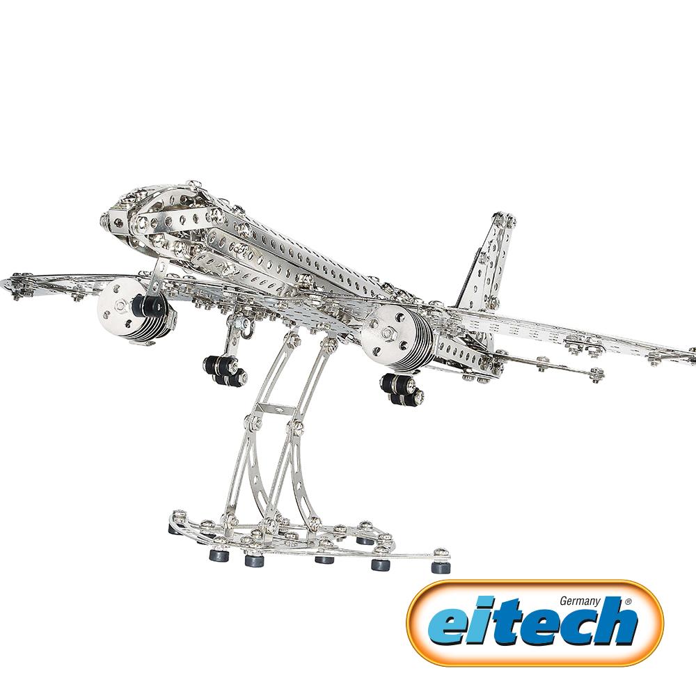 德國eitech益智鋼鐵玩具-航空飛機 C10