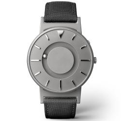 EONE 美國設計品牌 Bradley 觸感腕錶-紳士黑/40mm