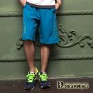 Dreamming 時尚輕盈透氣彈力抽繩海灘褲-共二色