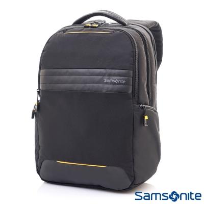 Samsonite新秀麗 Locus智慧型可調式夾層筆電後背包N2 14吋(黑)