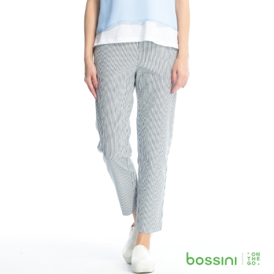 bossini女裝-彈力修身褲04海軍藍