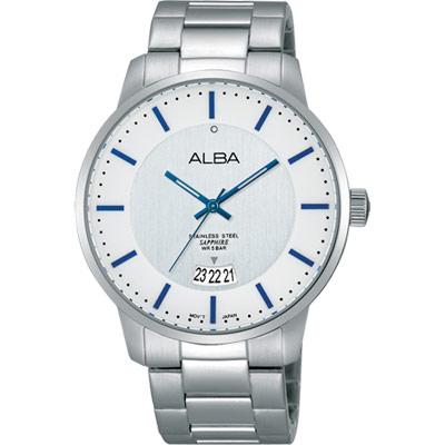ALBA-日系簡約腕錶-AS9A35X1-銀-40mm
