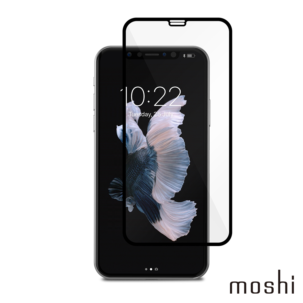 Moshi IonGlass for iPhone 11 Pro/XS/X 強化玻璃螢幕保護貼