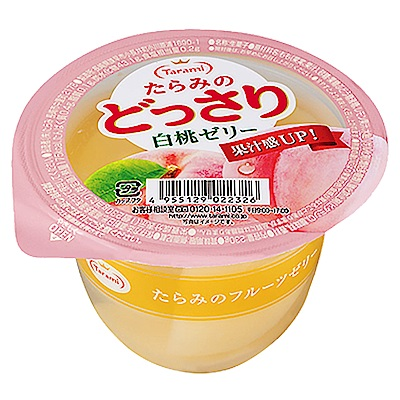Tarami達樂美 果凍杯-水蜜桃(230g)