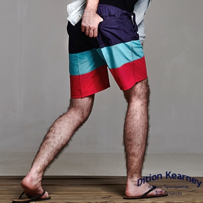 DITION 速乾衝浪SURF 接色海灘褲 水洗海洋風 音樂祭 健身
