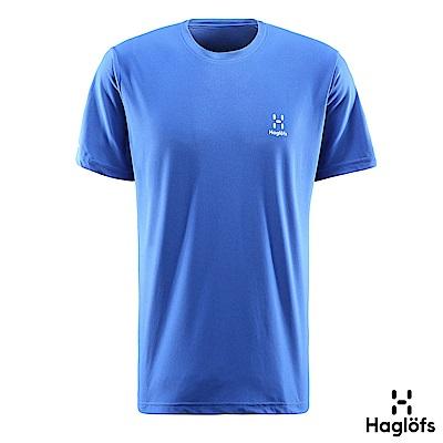 六折↘Haglofs 男 L.I.M Tech 短袖T恤 金屬藍色