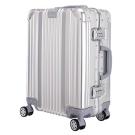 日本 LEGEND WALKER 1510-48-19吋全鋁鎂合金行李箱 合金銀