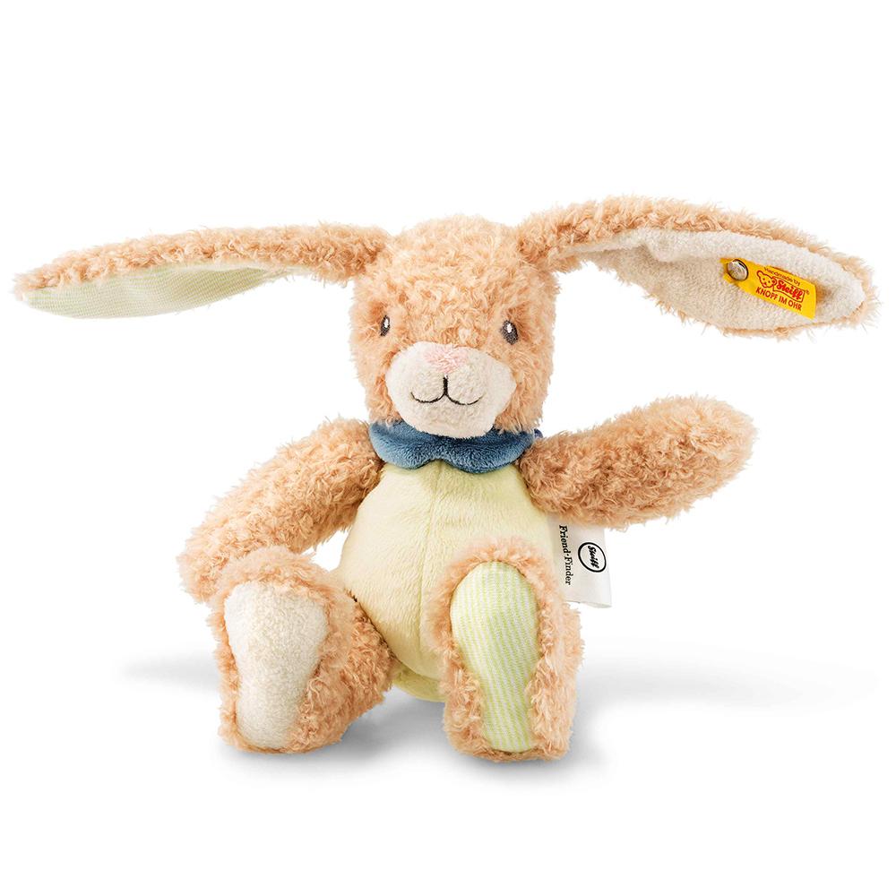 STEIFF德國金耳釦泰迪熊 - 嬰幼兒玩偶  Friend-finder Rabbit
