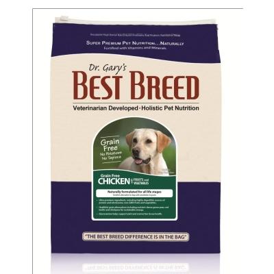 BEST BREED貝斯比《全齡犬無榖雞肉+蔬果配方-BBF1201GF》1.8kg