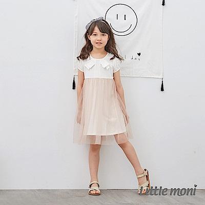 Little moni 蝴蝶結紗裙洋裝 (2色可選)
