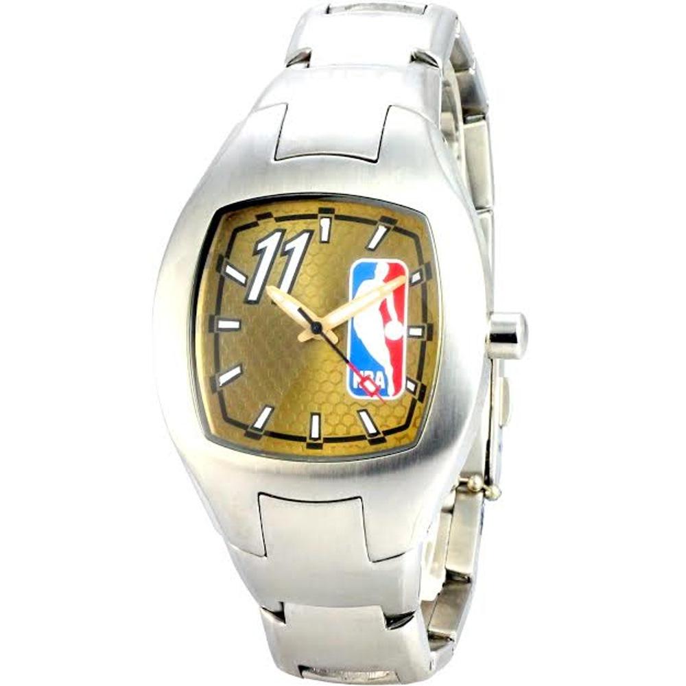 NBA 美國職籃 幸運數字11號腕錶-金色/36mm