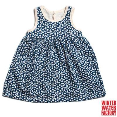 Winter Water Factory 海軍藍莓果無袖洋裝