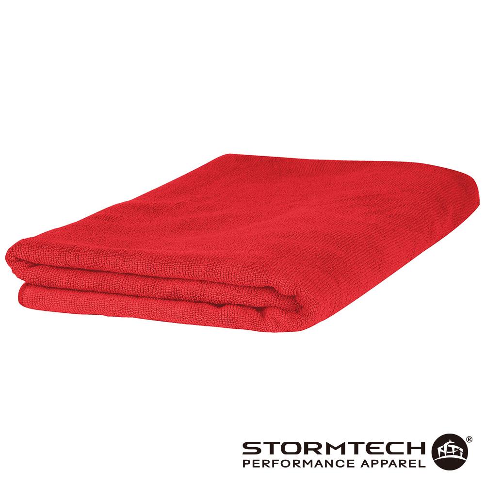 【加拿大STORMTECH】MFT-1超吸水輕量毛巾-紅