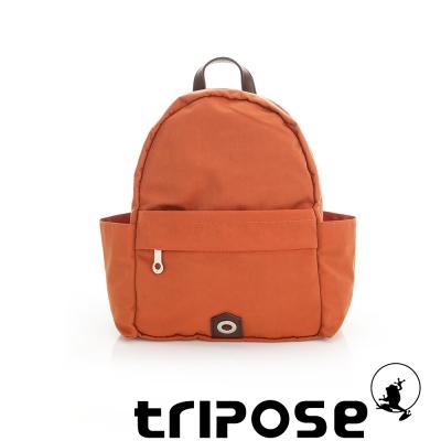 tripose MOVE系列側口收納機能後背包 橘