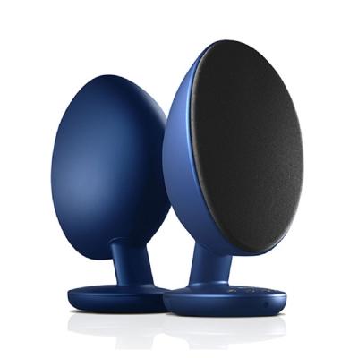 KEF EGG 主動式 藍芽多媒體喇叭(藍色)
