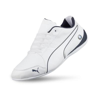 PUMA-BMW MS Drift Cat 7 男女賽車運動鞋-白色