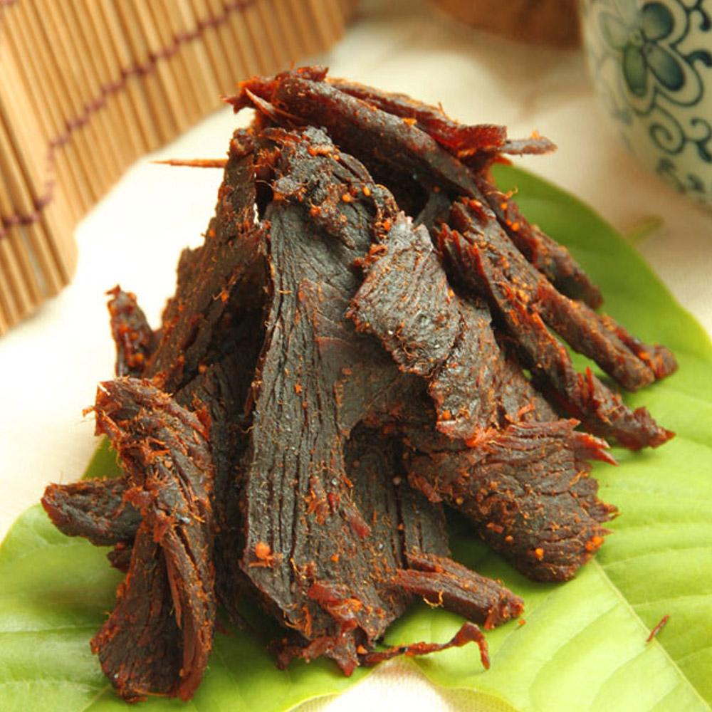 金門老農莊 牛肉乾100g(黑胡椒)20包