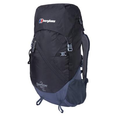 【Berghaus 貝豪斯】男款FREEFLOW30L專業登山包T27M17灰/黑