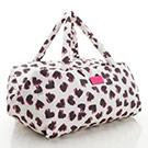 VOVAROVA空氣包-週末旅行袋-彩繪甜心(白)-法國設計系列