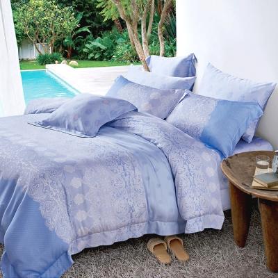 Lily Royal 天絲 六件式兩用被床罩組 特大 白雲之戀