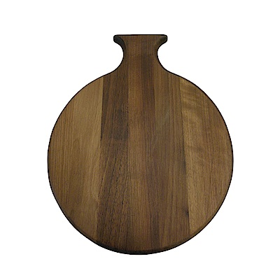 Scanwood丹麥 胡桃木圓形砧板36x29cm