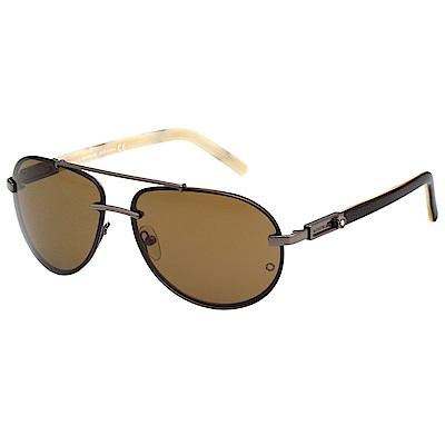 萬寶龍 MONTBLANC 太陽眼鏡 (槍色)MB272S
