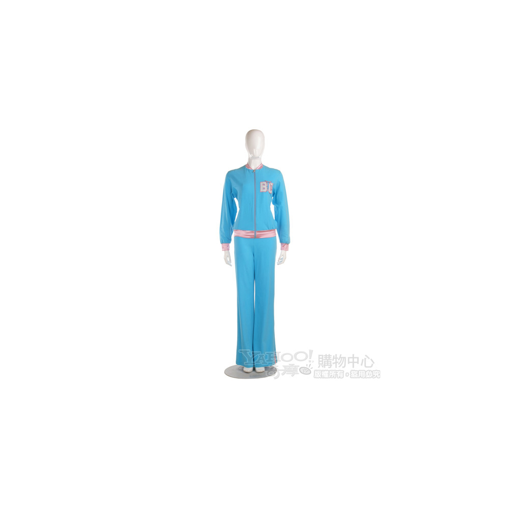 Blugirl 藍/粉色休閒長褲