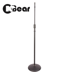 CNBear K-202B 直立圓盤式麥克風架 黑色款