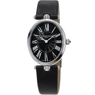 康斯登CONSTANT Art Deco典雅時尚腕錶-30x25mm/黑色
