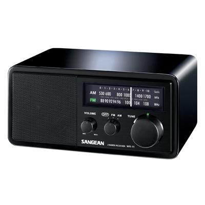SANGEAN 二波段收音機 WR-11