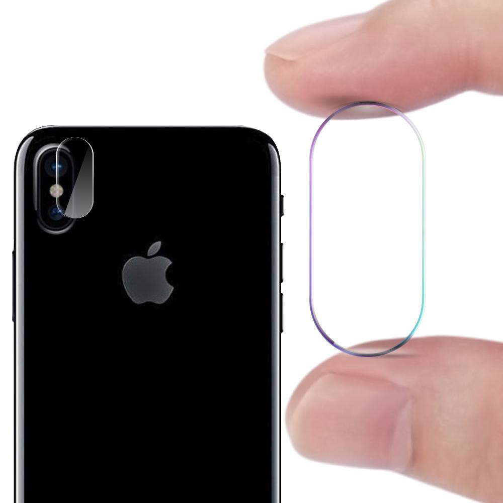 CITY for iPhone X 玻璃9H鏡頭保護貼精美盒裝 2入一組