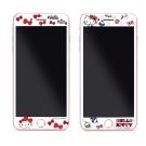 GARMMA Hello Kitty iPhone 7/8+plus 滿版鋼化玻璃膜-派對系列