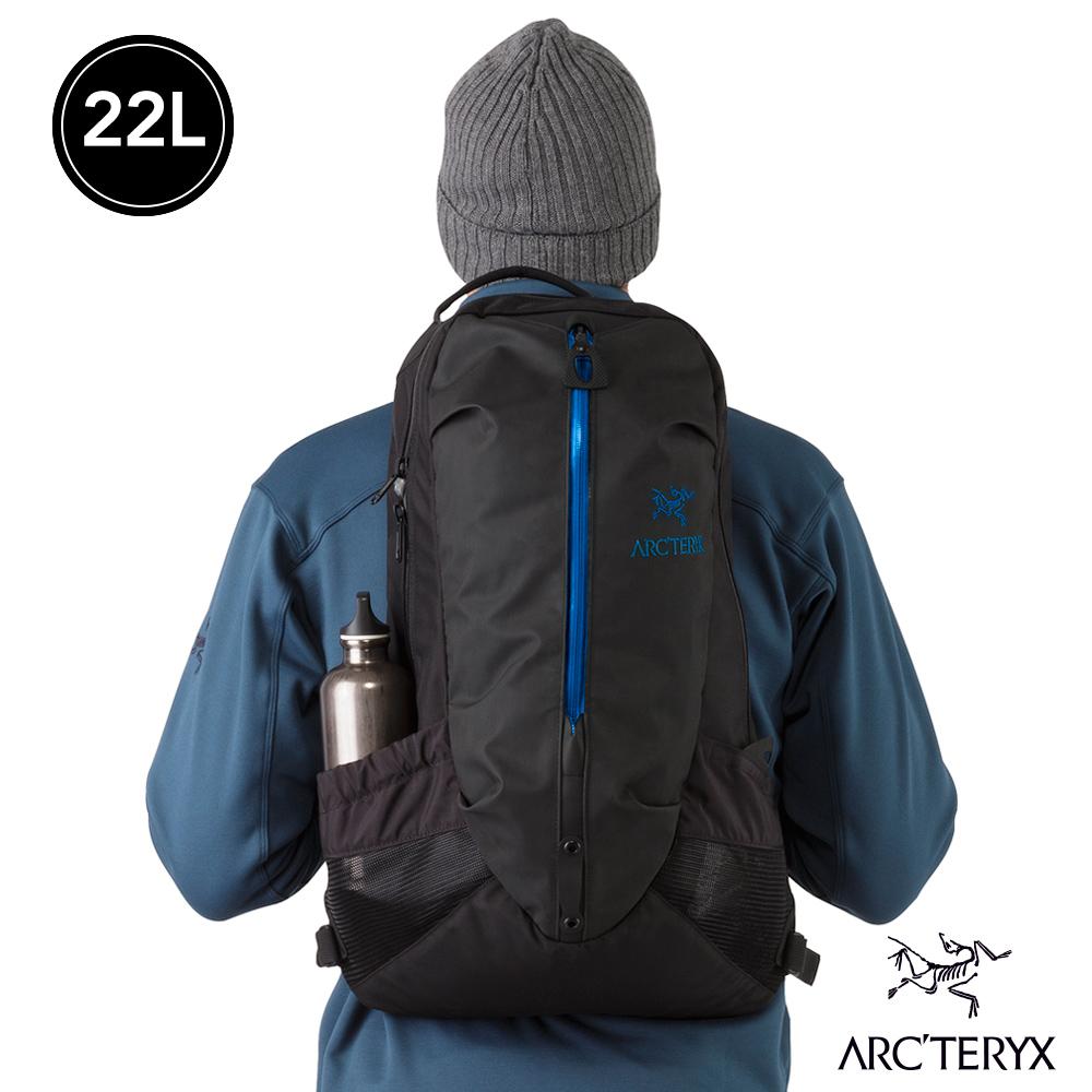 Arcteryx 始祖鳥 24系列 Arro 22 多功能後背包 黑藍