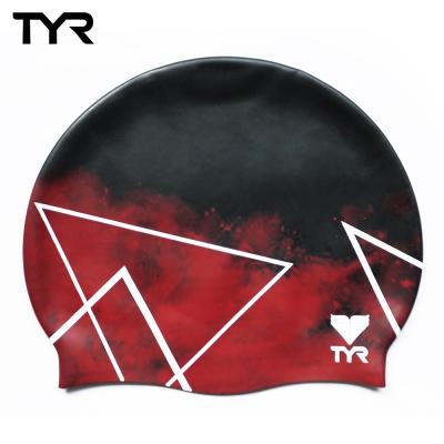 美國TYR 成人矽膠泳帽 Polygon 台灣總代理