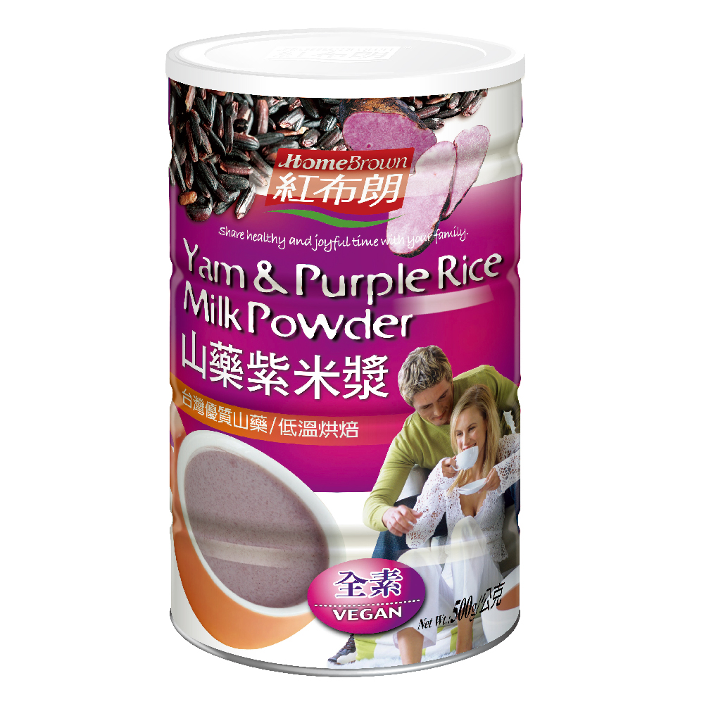 紅布朗 山藥紫米漿(500g)