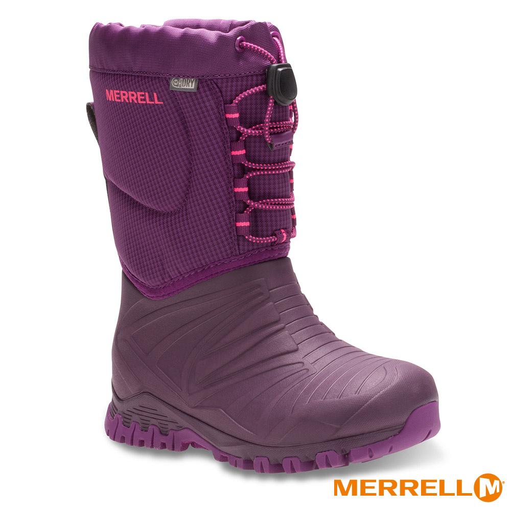 MERRELL SNOW QUEST BOOT WP 防水童靴-桃(55594)