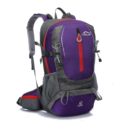 Local Lion 城市休閒電腦背包14.1吋/登山包35L 469PE紫色