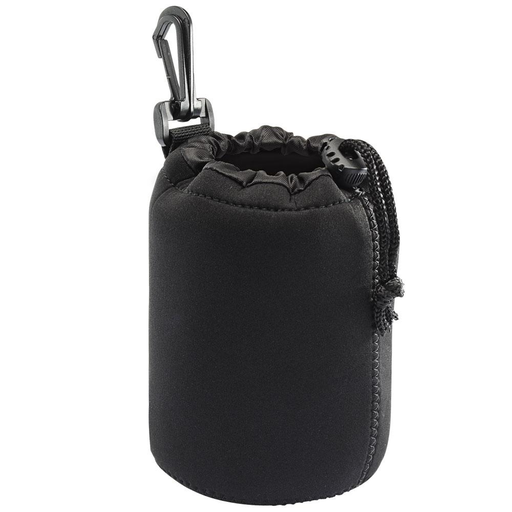 Kamera 潛水料鏡頭袋(M)-黑