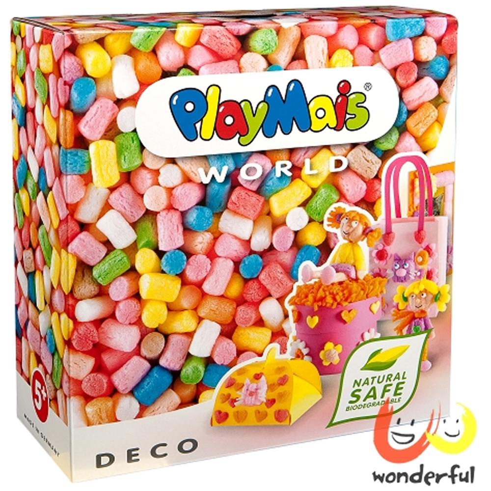 《Playmais》玩玉米創意黏土主題禮盒 - 粉彩裝飾